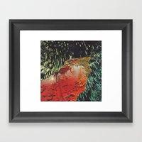 R E C E P T O R S (colla… Framed Art Print