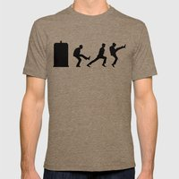 The Tardis of Silly Walks Mens Fitted Tee Tri-Coffee SMALL