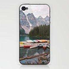 Lake Moraine iPhone & iPod Skin