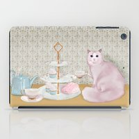 Cat's Tea Party iPad Case
