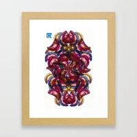 Empanadas Pattern #3 Framed Art Print