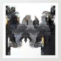 Reflections, On Reaction… Art Print