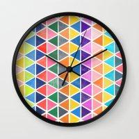 unfolding 2 Wall Clock