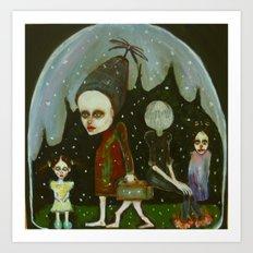 snowglobe company Art Print