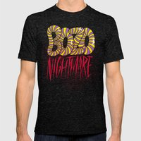 BOZO Nightmare Mens Fitted Tee Tri-Black SMALL
