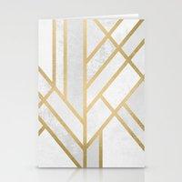 Art Deco Geometry 2 Stationery Cards