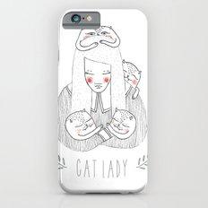 cat lady iPhone 6s Slim Case