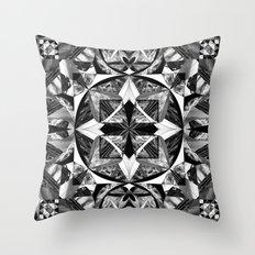Glaciel Throw Pillow