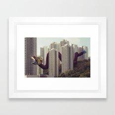 遙遠的呼應 / Distant echoes Framed Art Print