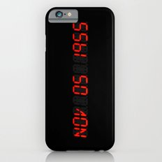Nov 05 1955 - Back to the future iPhone 6 Slim Case
