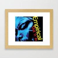 Empirical 'Out 'n' In' Album cover Framed Art Print