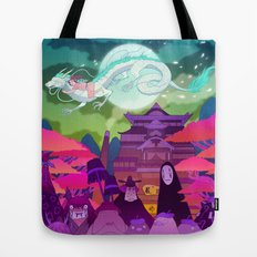 Spirited Away Tote Bag