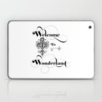 Alice In Wonderland Welc… Laptop & iPad Skin
