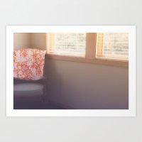 Corner Chair Art Print