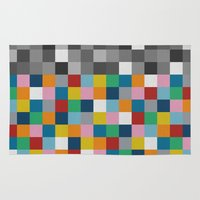 Colour Block With Topper… Rug