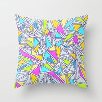 Abstract #001 Throw Pillow