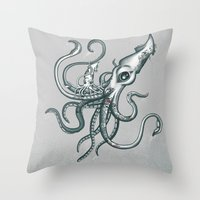 The New Ink Throw Pillow