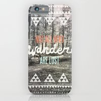 quote iPhone & iPod Cases featuring Wander by Wesley Bird