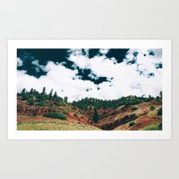Colorado Valley Art Print