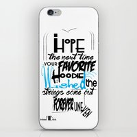 Hoodie - Backhanded Insu… iPhone & iPod Skin