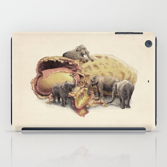Elephant's Paradise iPad Case