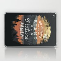 Go Outside and Stand in Nature Laptop & iPad Skin