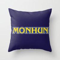 MONHUN Throw Pillow