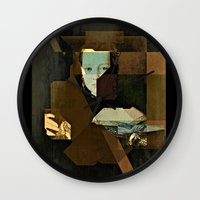Marie v2 Bronzino Wall Clock