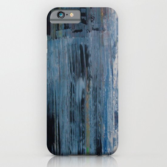 ABSTRACT BLUE iPhone & iPod Case