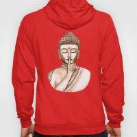 Buddha Shh.. Do not disturb - Colored version Hoody