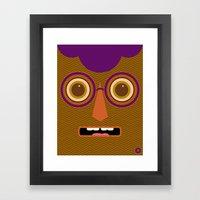 PumkinFrank Framed Art Print