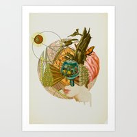 Hidden Beauty  Art Print