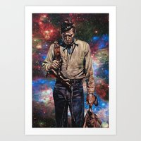 The Man From Carson City Art Print