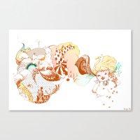 Auriculate Canvas Print