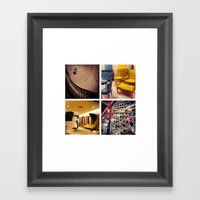 Love Design, Interiors Framed Art Print