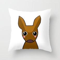 Little Deer-349 Throw Pillow