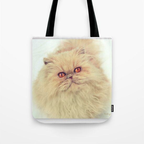 Who are you calling a big ball of fur?  Tote Bag