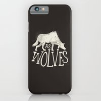 iPhone & iPod Case featuring As Wolves by Landon Sheely