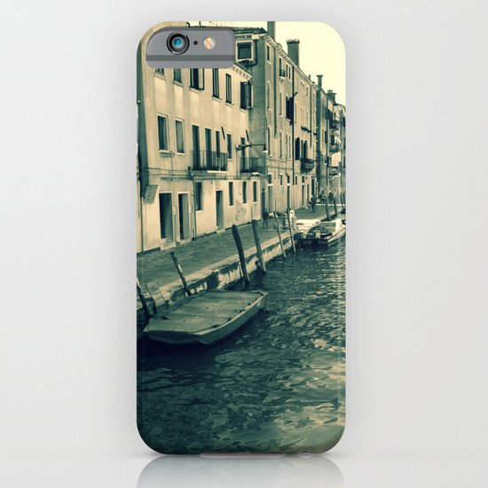 Venezia, where my heart is iPhone & iPod Case
