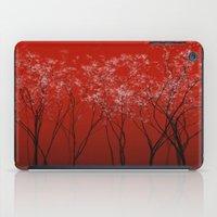 Trees redwine iPad Case