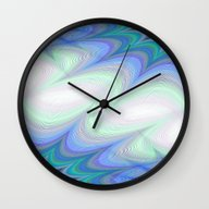 Wall Clock featuring Heaven by David Zydd