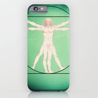 iPhone & iPod Case featuring Vitruve by GetNaked