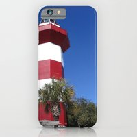 iPhone & iPod Case featuring Habour Town Lighthouse by Cindy Munroe Photography