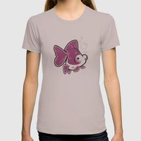 Moor Goldfish Womens Fitted Tee Cinder SMALL