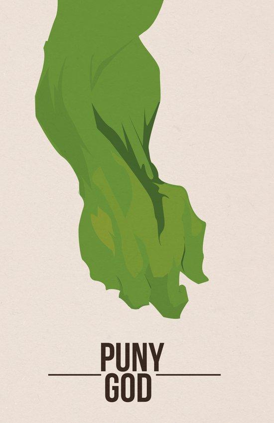 The Hulk - Puny God - Art Print