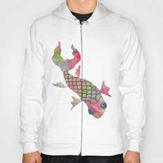 Rainbow Koi Fish Hoody