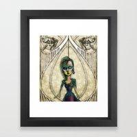 If You Dare Framed Art Print