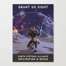 Mass Effect 3- Infiltrat… Canvas Print