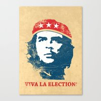 Viva la election! Canvas Print