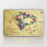 Love is all you need... Laptop & iPad Skin